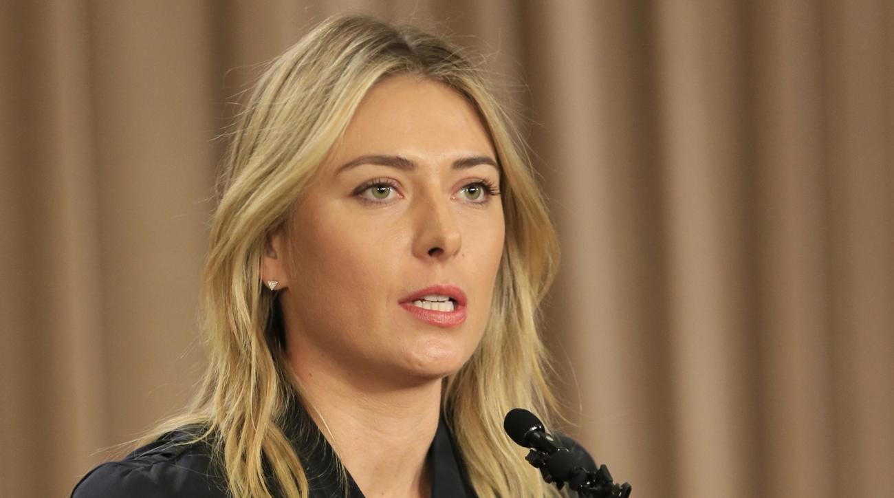 maria sharapova drug test nike sponsor drop