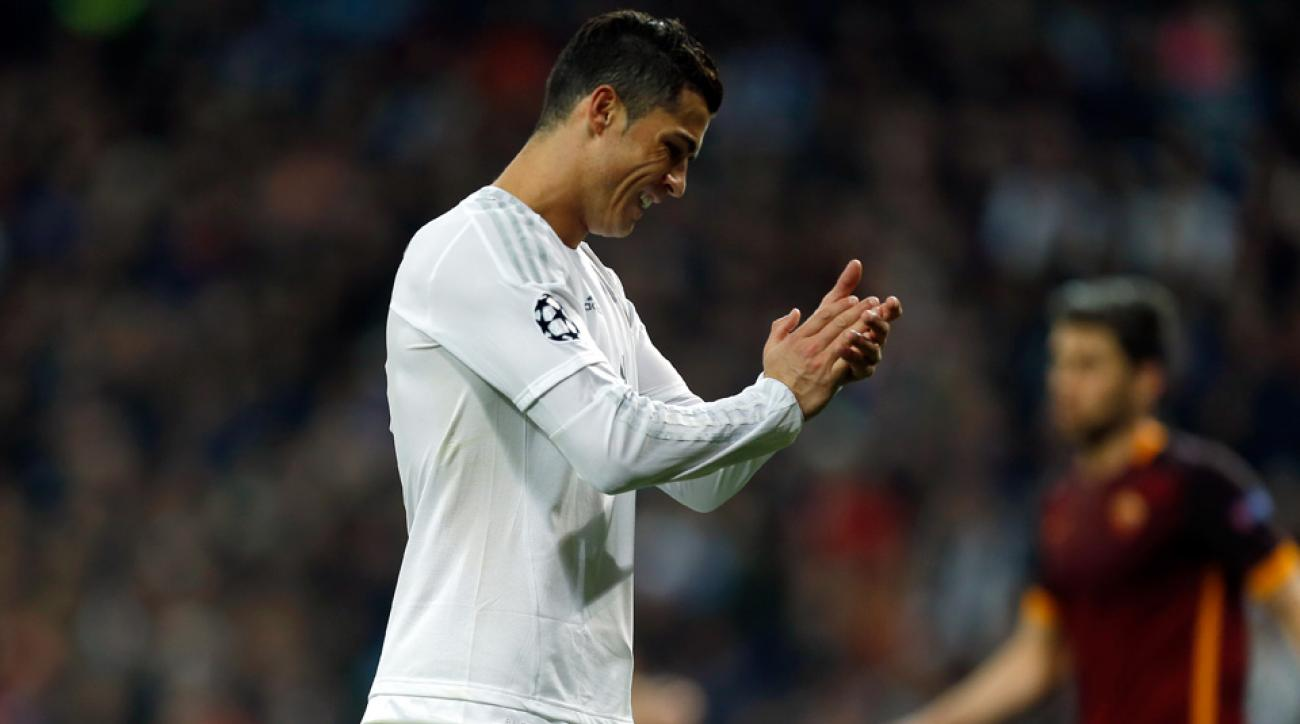 Cristiano Ronaldo scores the 90th Champions League goal of his career