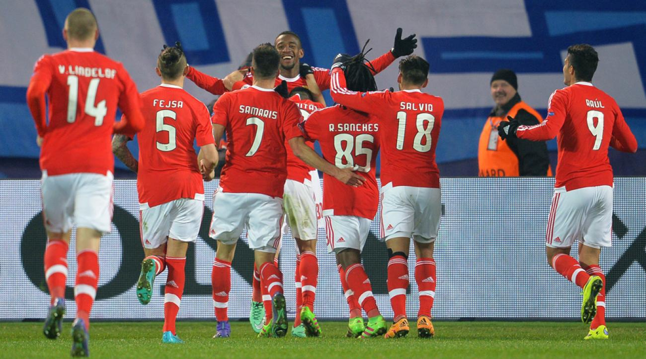 Benfica ousts Zenit from Champions League