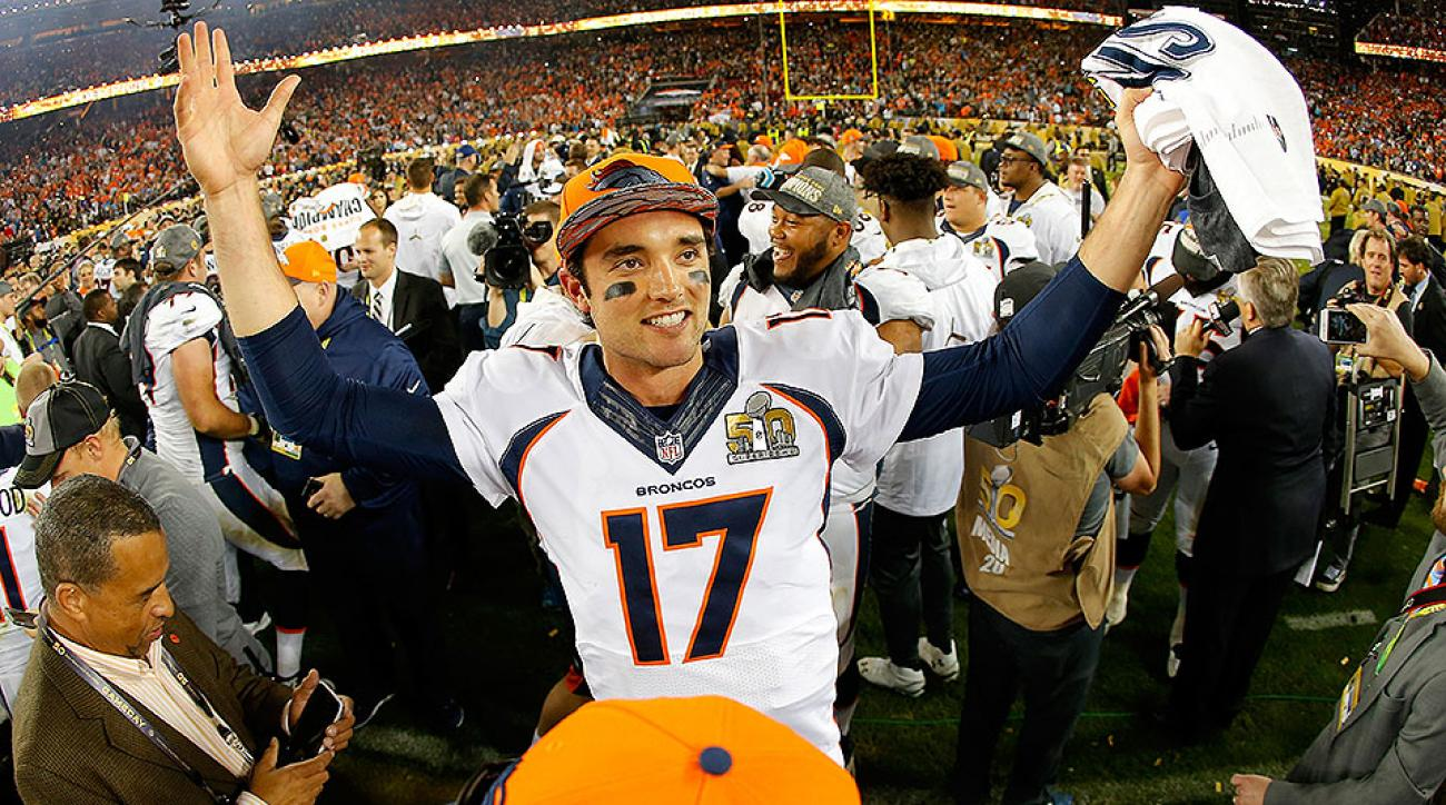 NFL free agency: Brock Osweiler signs with Texans; Broncos enter QB market