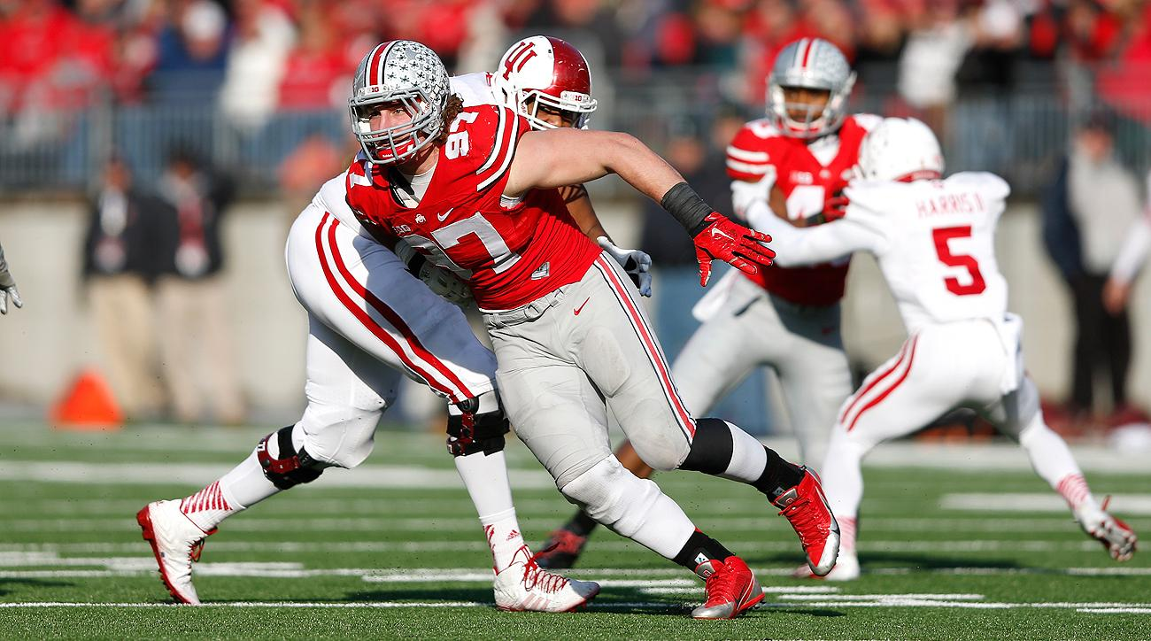 Joey Bosa represents the kind of pass-rush ability that will tempt teams to pick him even if they're already set at defensive end.