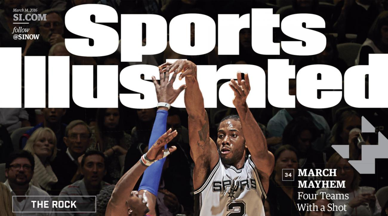 sports illustrated cover san antonio spurs kawhi leonard
