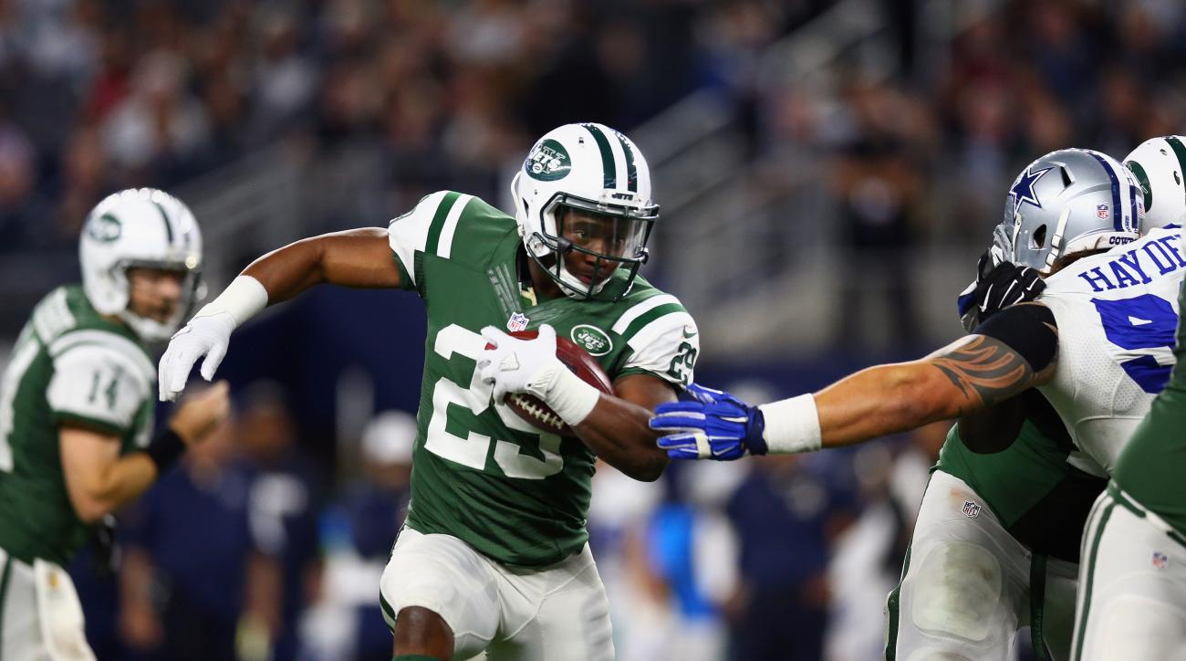 Jets re-sign Bilal Powell
