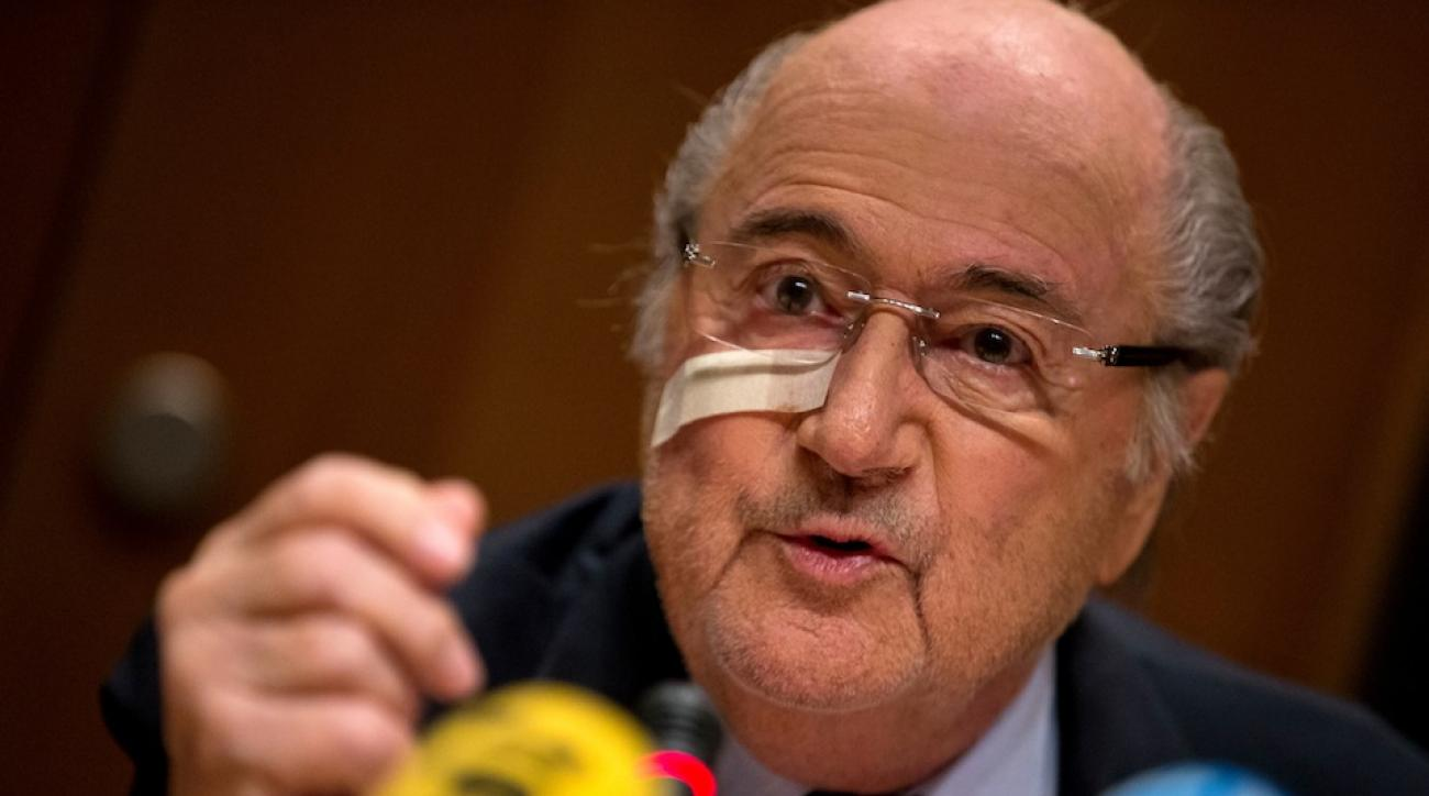 sepp blatter tribute fifa election