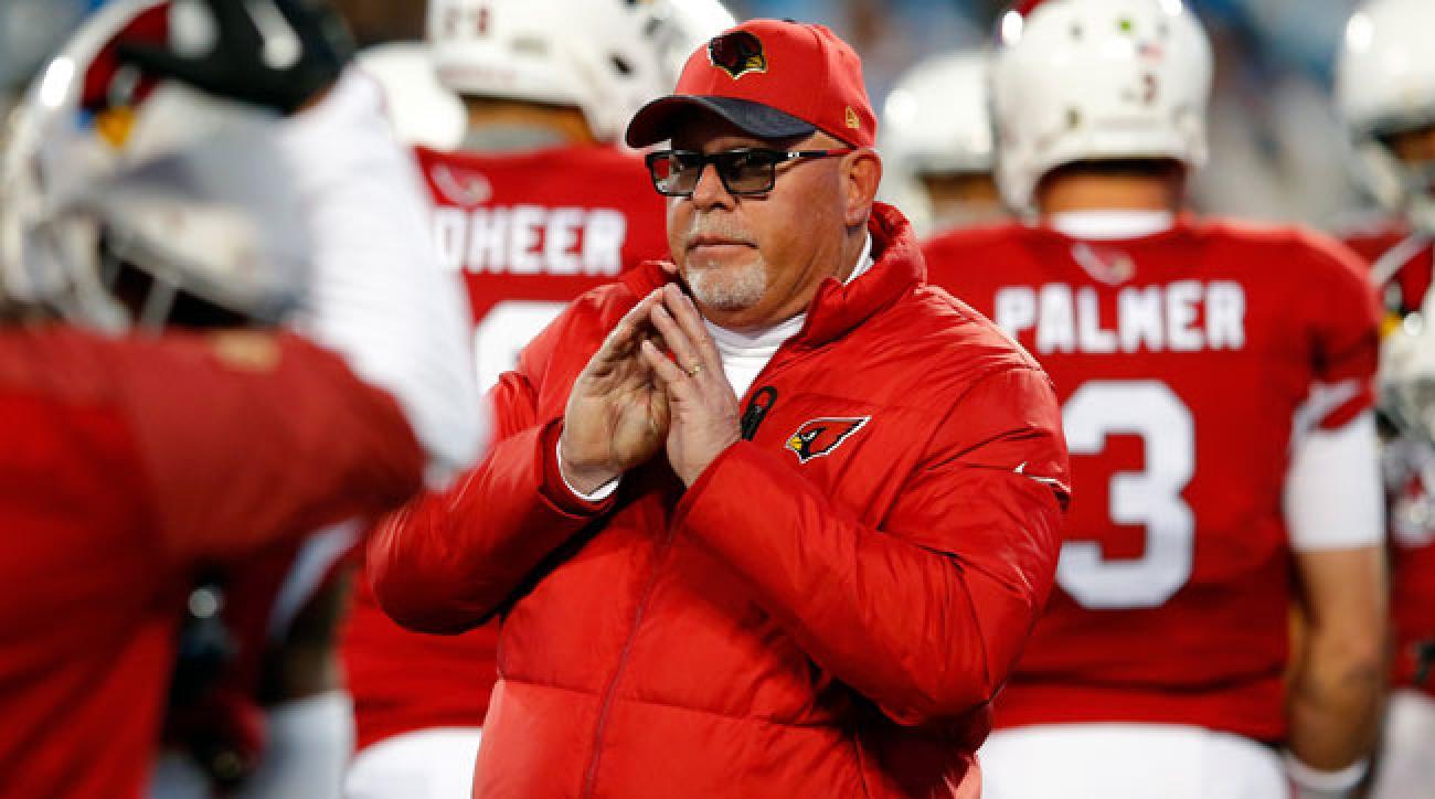 Arizona Cardinals coach Bruce Arians.