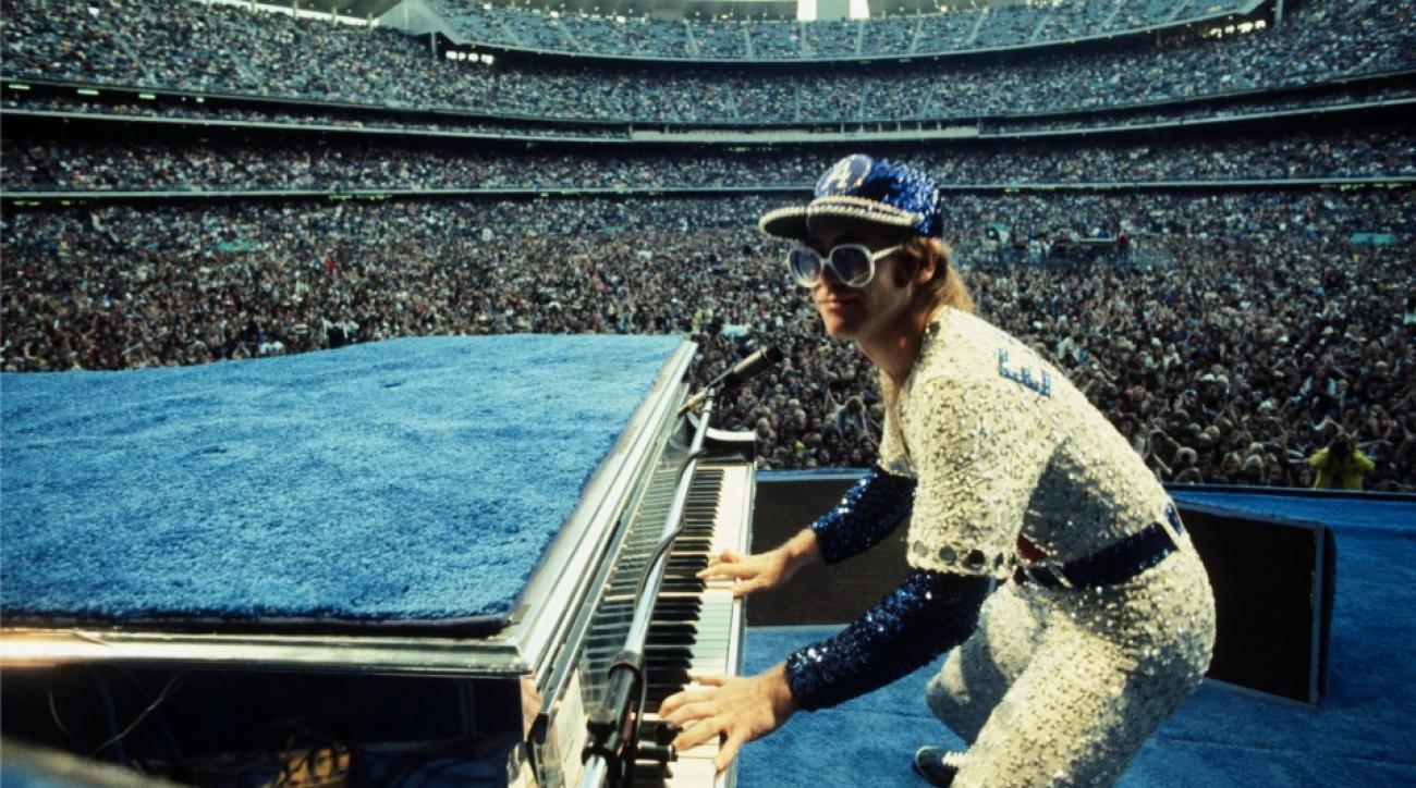 Elton John knows a lot about baseball