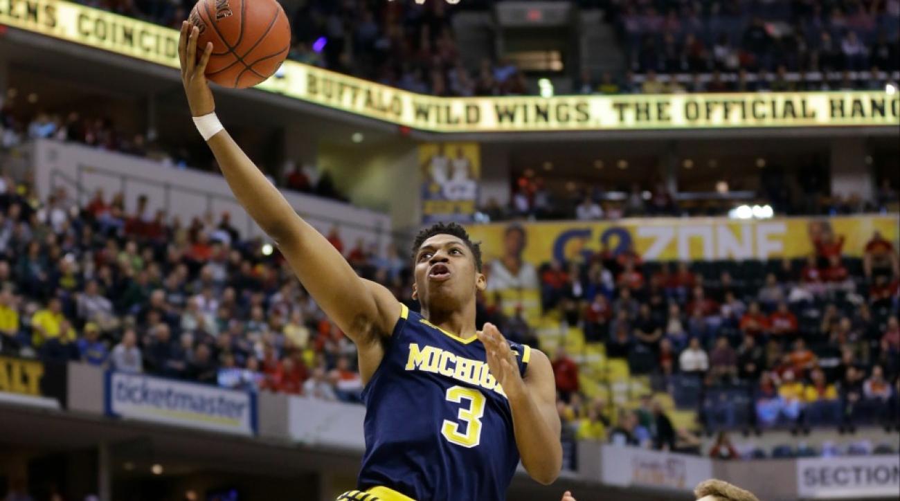 Michigan beats Indiana with buzzer beater in Big Ten tournament