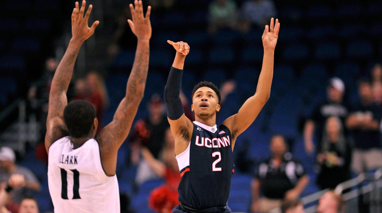 mike francesa uconn buzzer beater play by play video