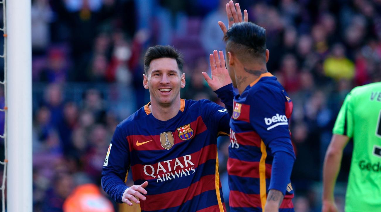 lionel messi goal barcelona getafe
