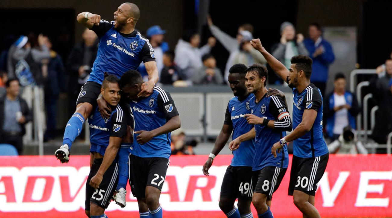 Quincy Amarikwa scored a tremendous goal for the San Jose Earthquakes vs. the Portland Timbers