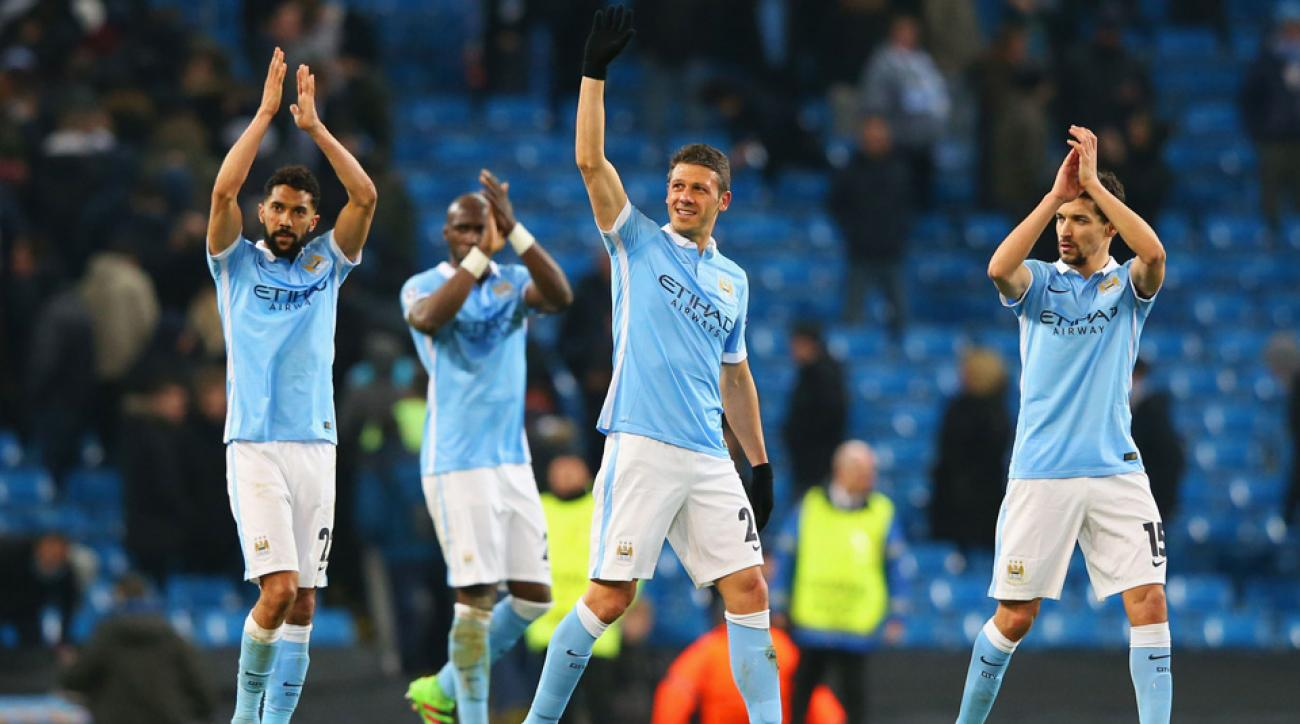 Manchester City reaches its first Champions League quarterfinal