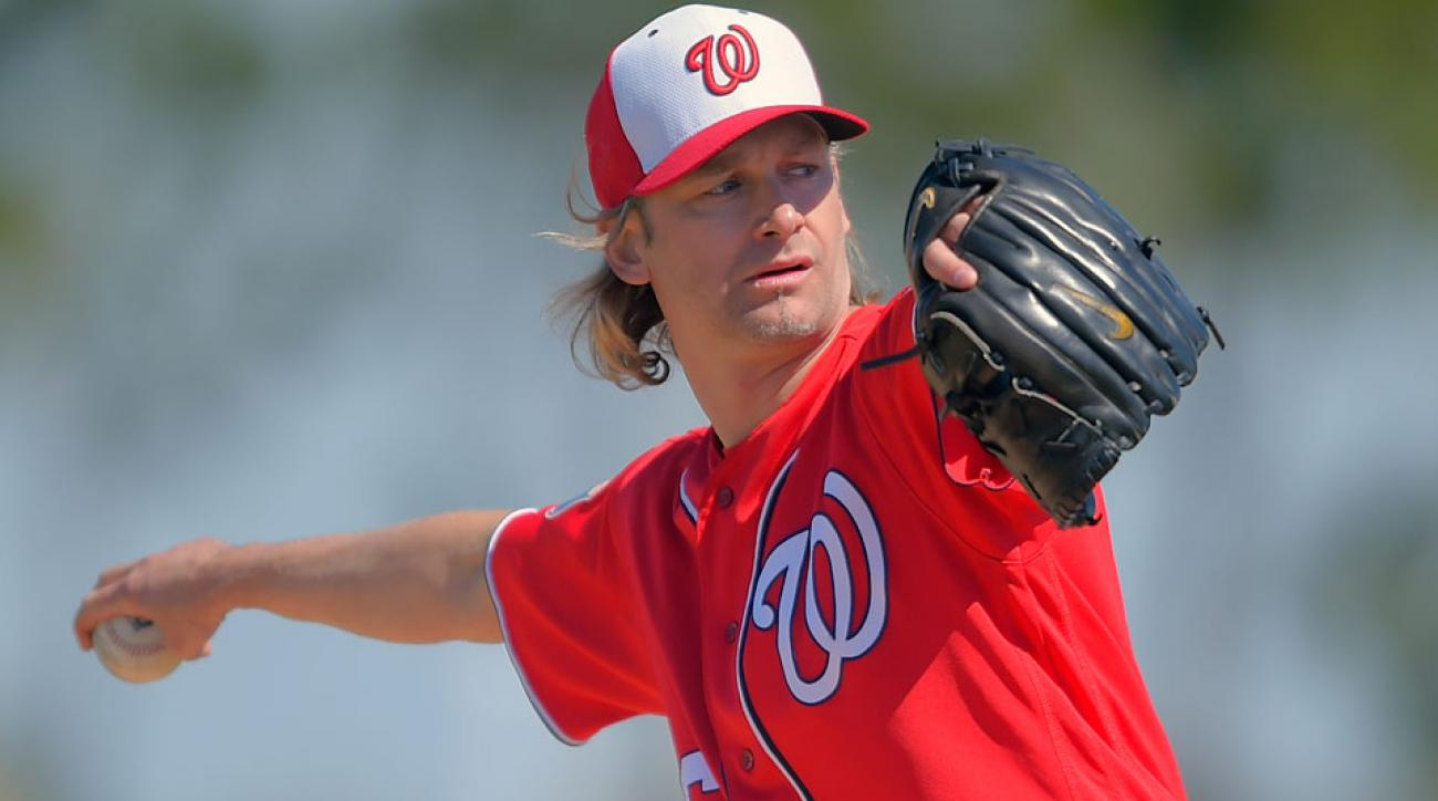 bronson arroyo torn labrum injury comeback nationals