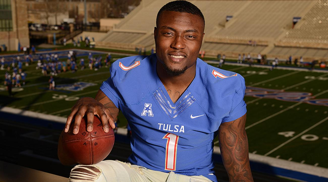 2016 NFL draft: Tulsa WR Keyarris Garrett a sleeper after injury, small-school background