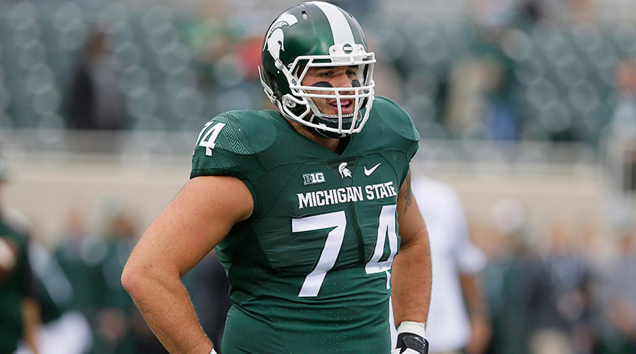 Michigan State pro day: Connor Cook, Jack Conklin
