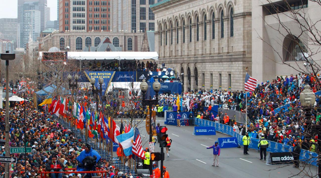 boston marathon banner day