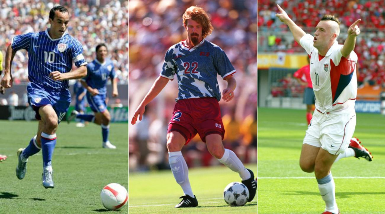 US Soccer's uniforms through the years