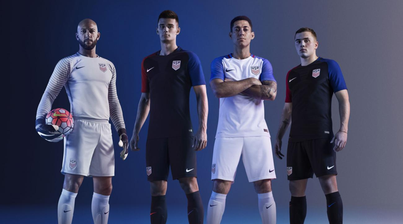 The new U.S. Soccer uniforms