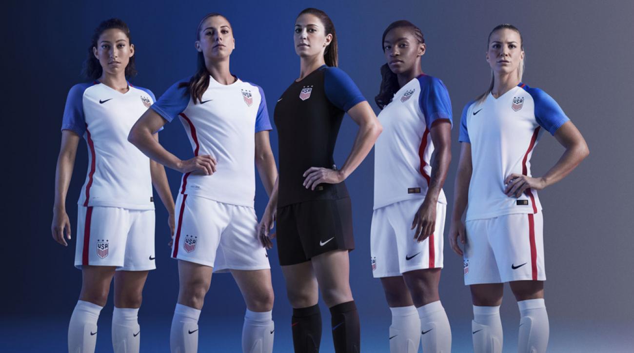 USWNT's new soccer uniform