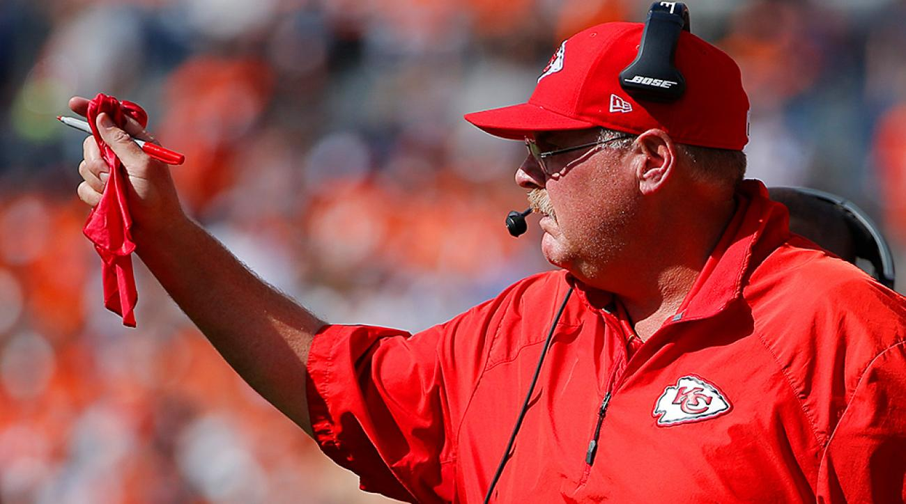 A new rule proposal that would make Andy Reid nervous