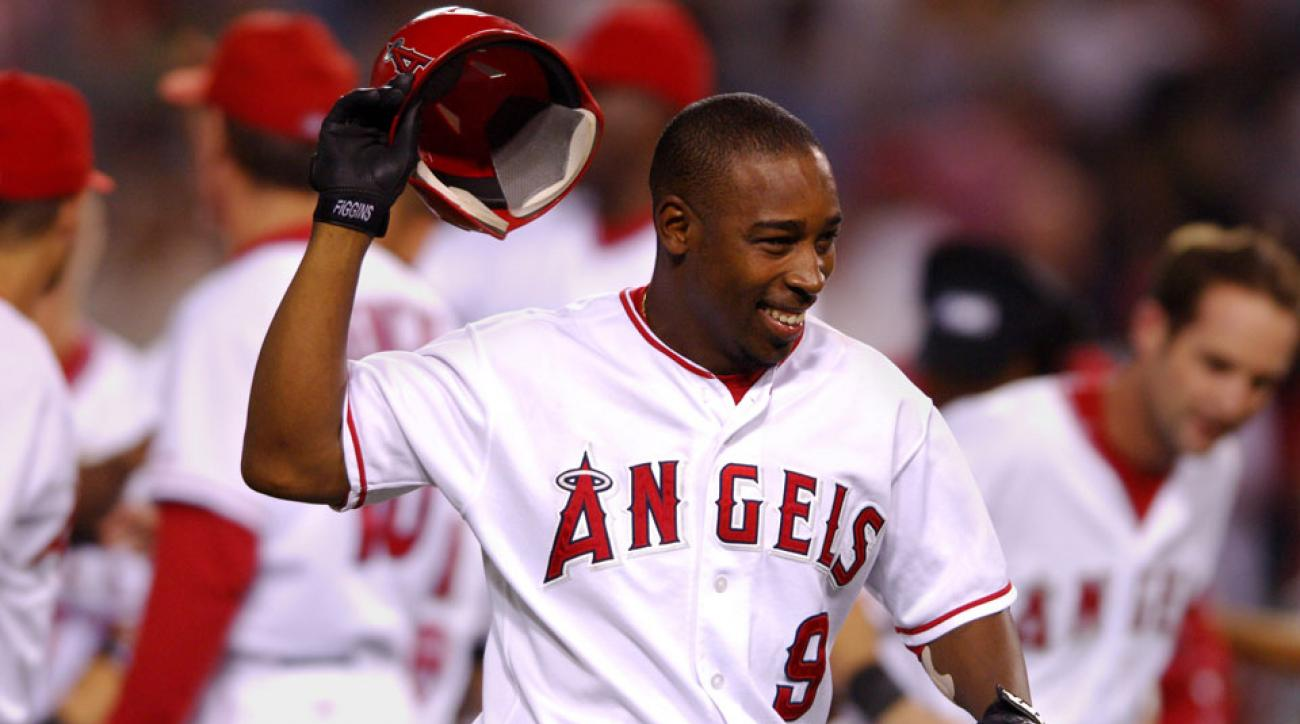 chone figgins signs one day contract los angeles angels retires