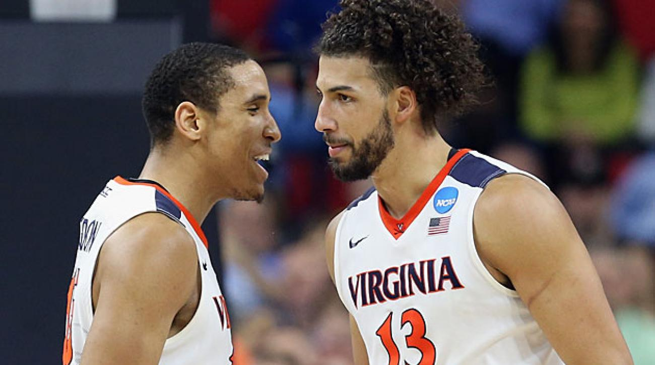 Malcolm Brogdon (left) and Anthony Gill