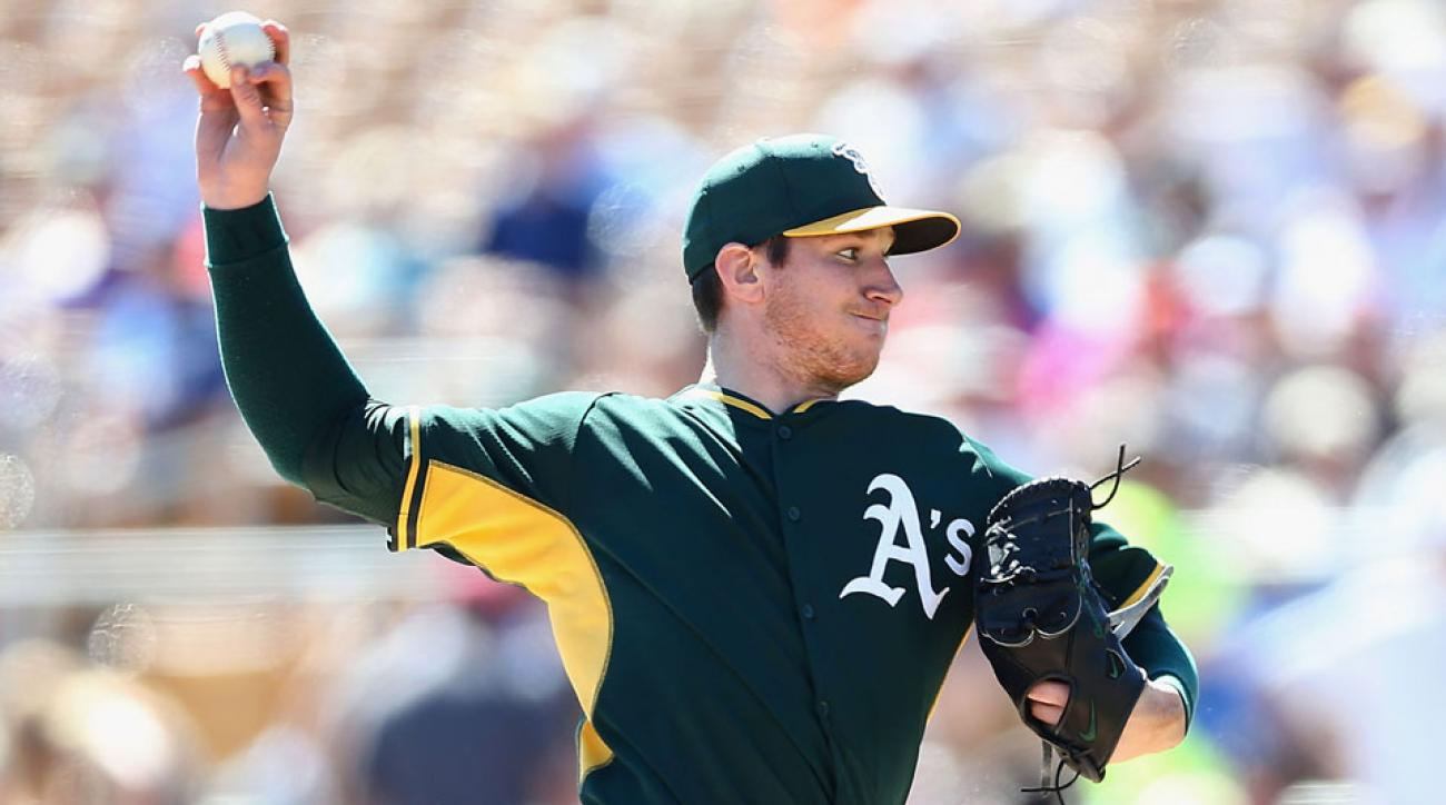 jarrod parker surgery return tommy john oakland athletics