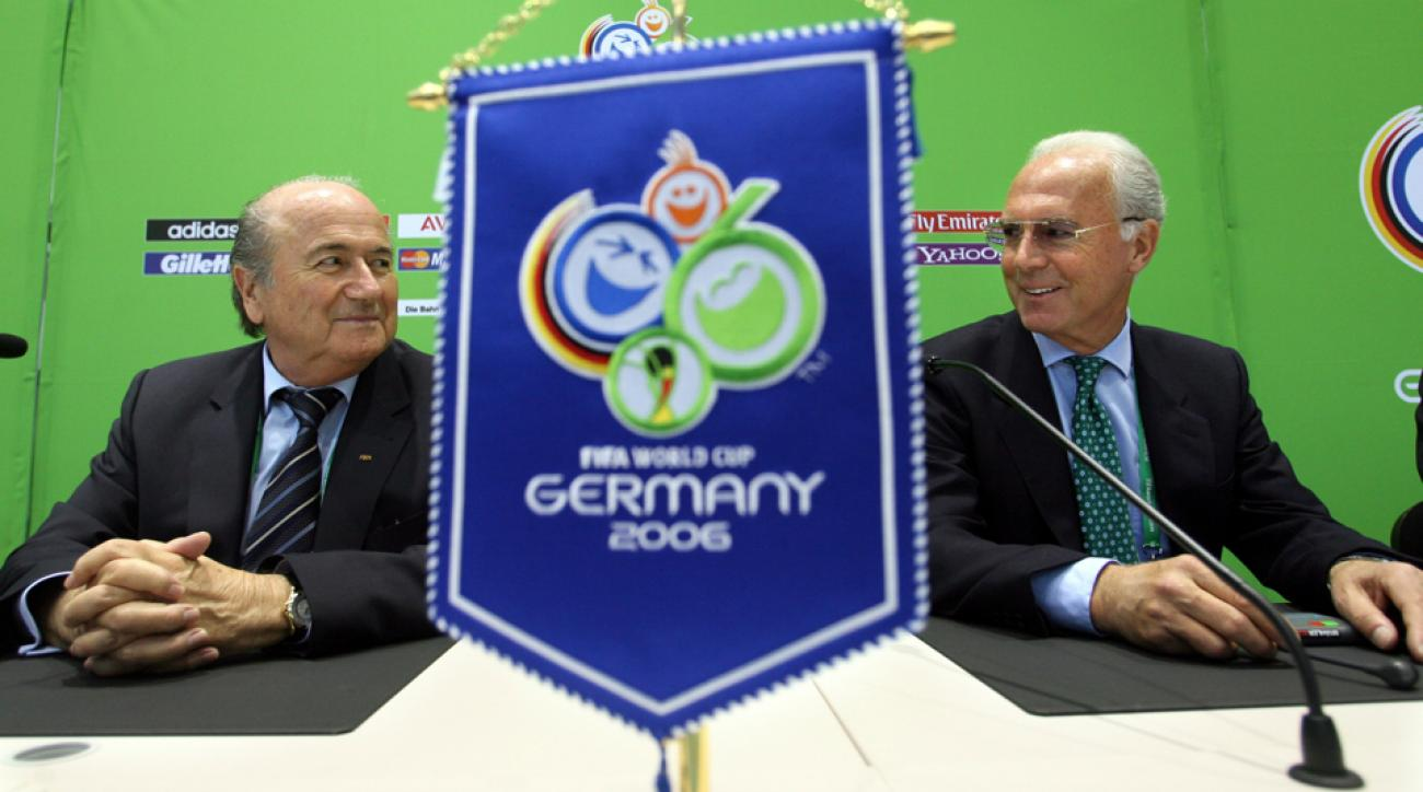 fifa investigating 2006 world cup germany