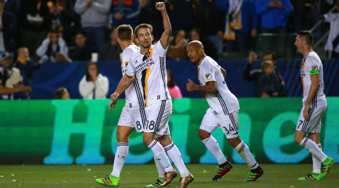 Mike Magee is back with the LA Galaxy
