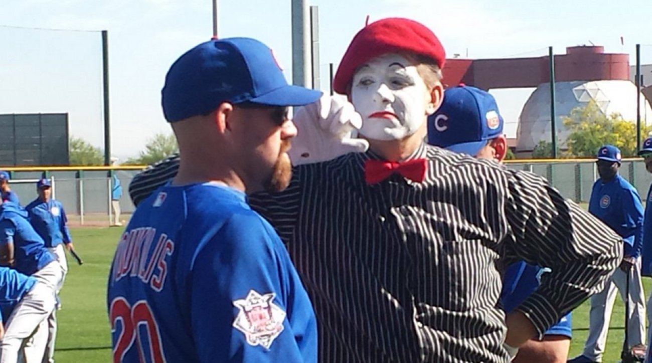 mime chicago cubs