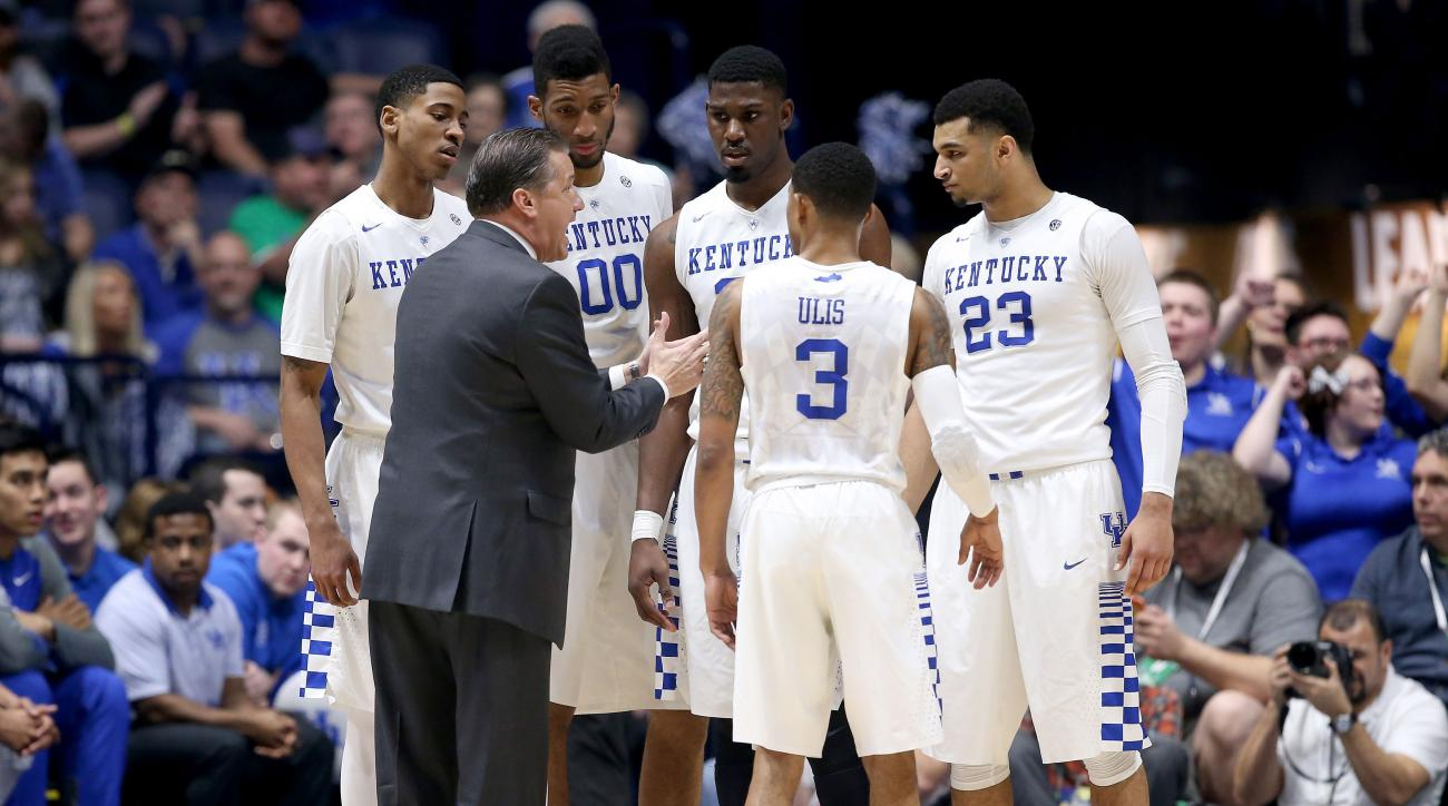 Kentucky Basketball Coach John Calipari Previews 2016 17: John Calipari: Kentucky Eligble Players All Entering NBA