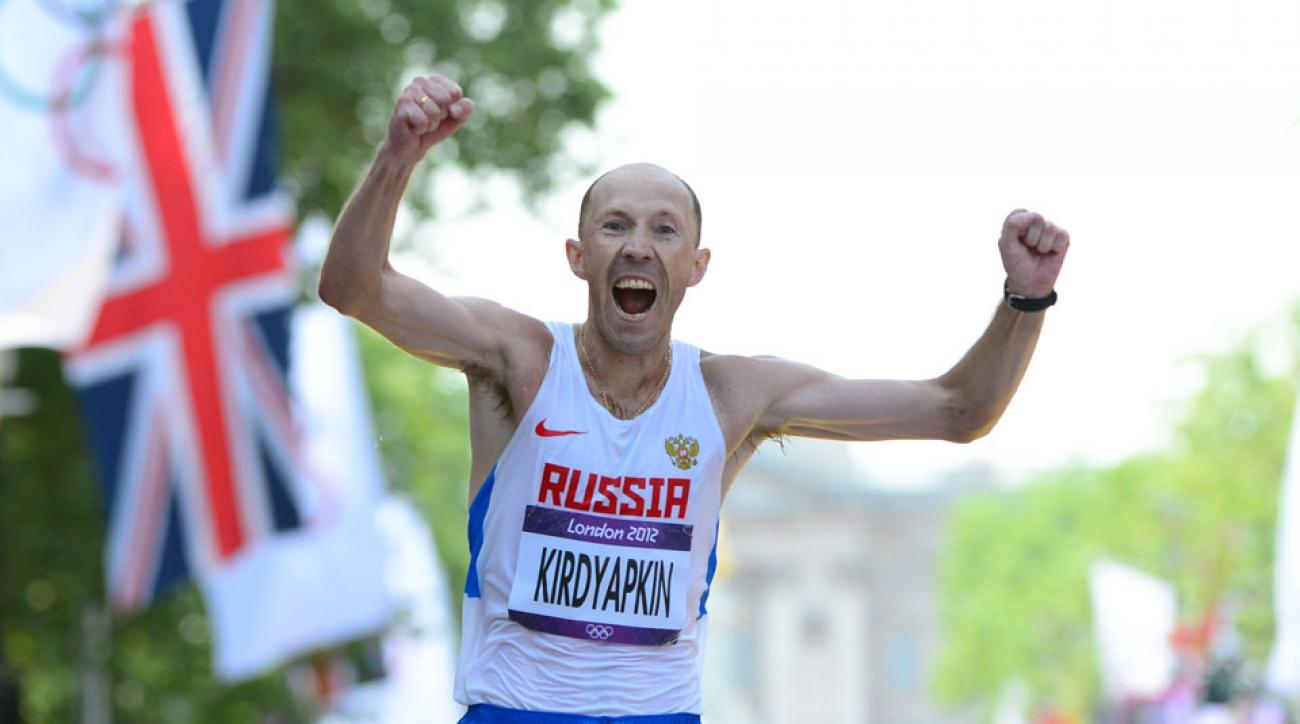 russian racewalking doping stripped olympic gold medal