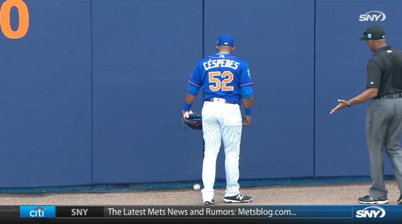 yoenis cespedes mets unplayable home run video