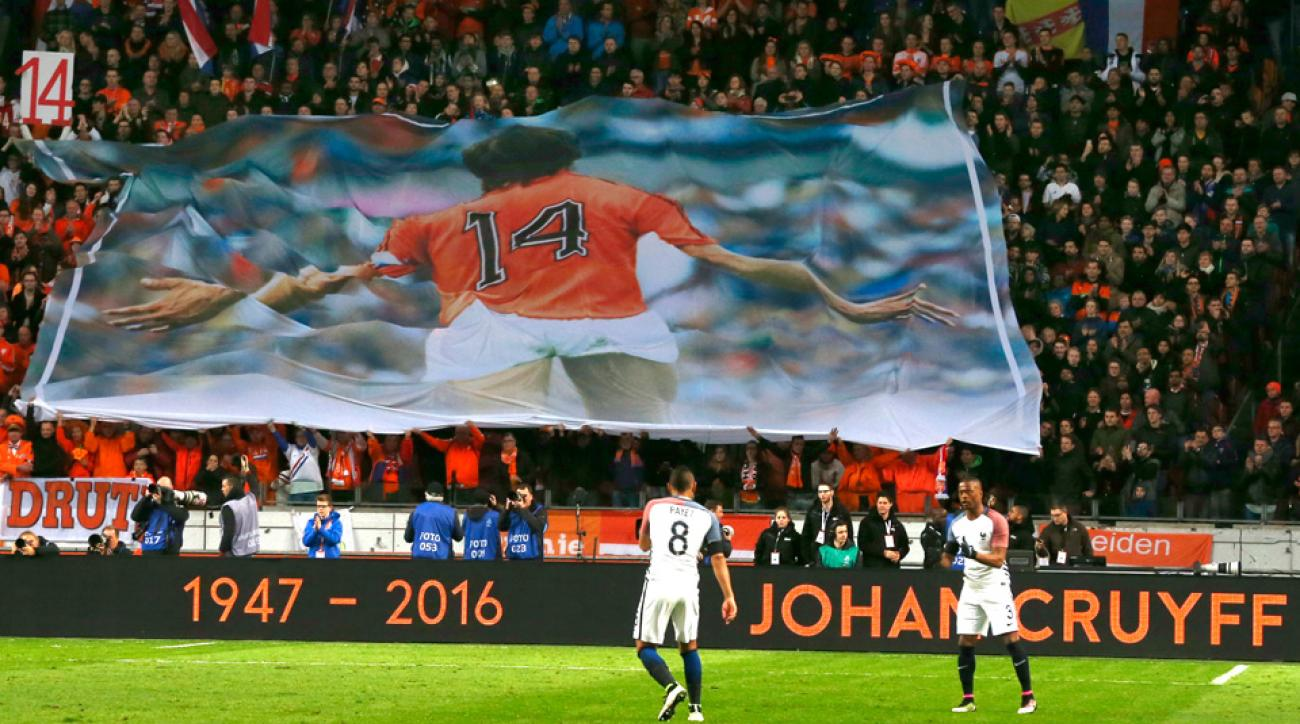 Johan Cruyff has passed away at 68