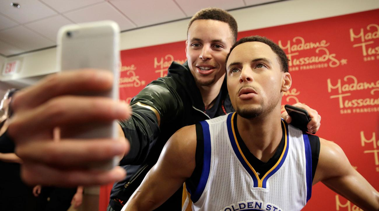 stephen curry warriors madame tussauds