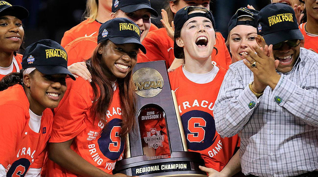 Women's NCAA Tournament: Syracuse, Washington Reach First