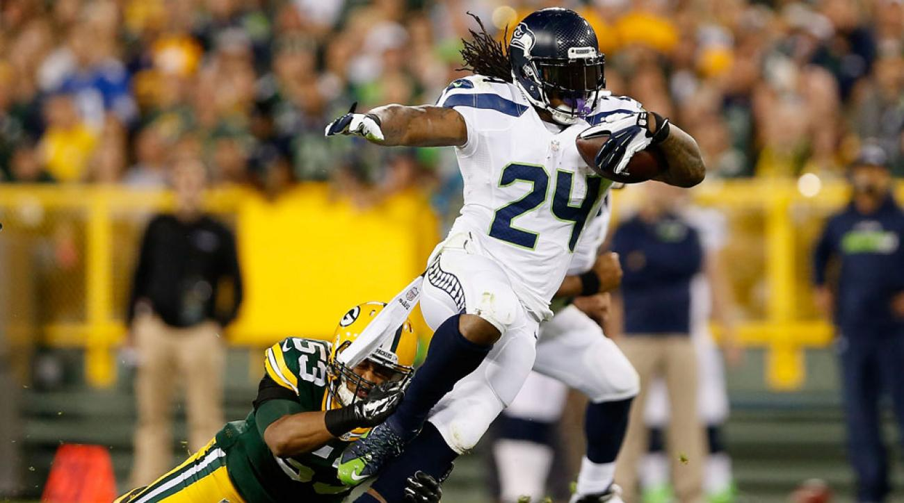 marshawn lynch green bay packers