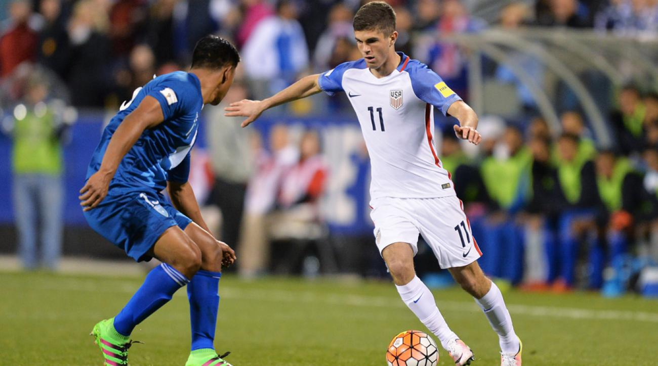 Christian Pulisic became cap-tied to the U.S. with his appearance in a World Cup qualifier