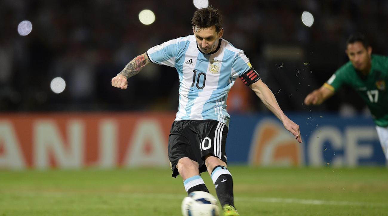 lionel messia argentina 50th goal video