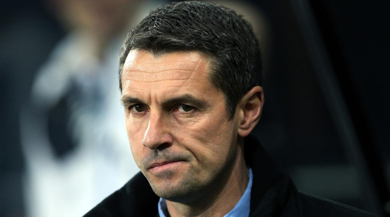 Remi Garde is out as Aston Villa manager after less than five months