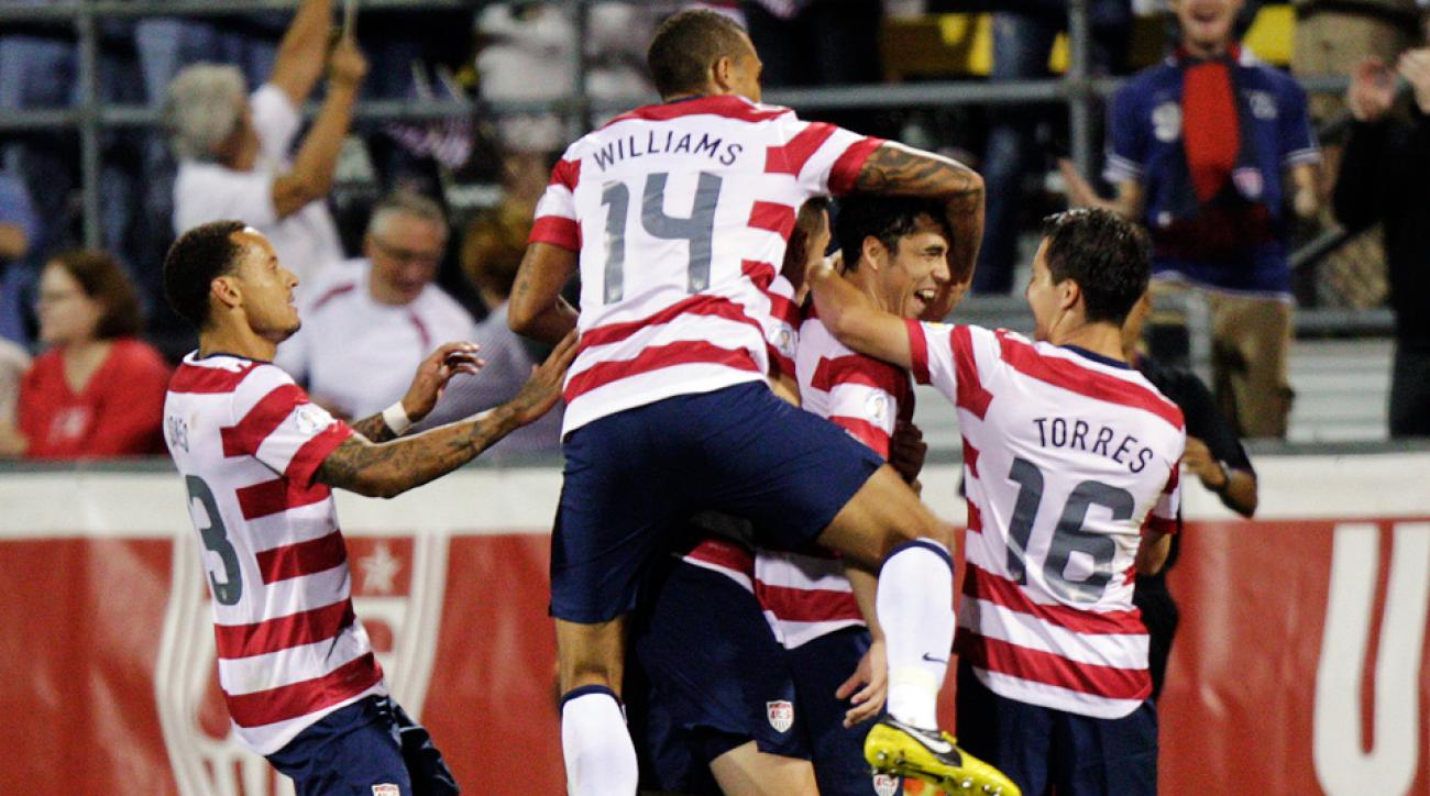 USA beats Jamaica in a 2012 World Cup qualifying match in Columbus