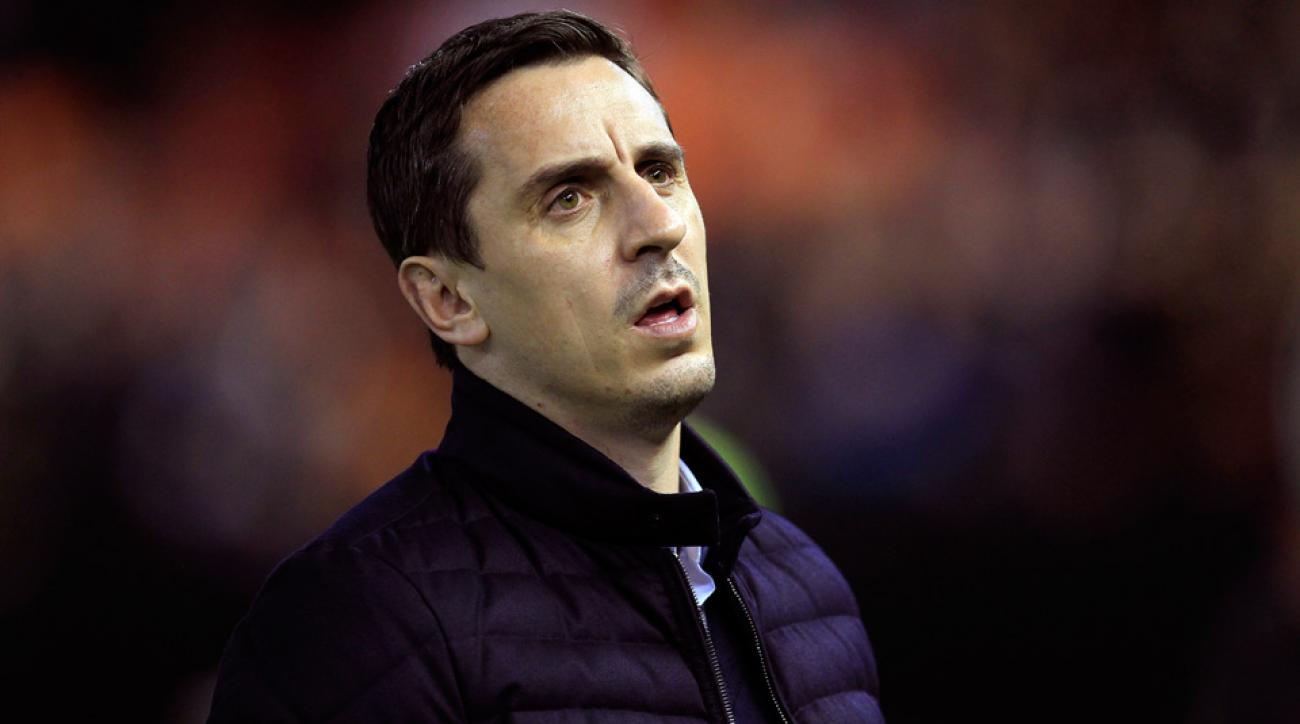 Gary Neville is out as manager of Valencia