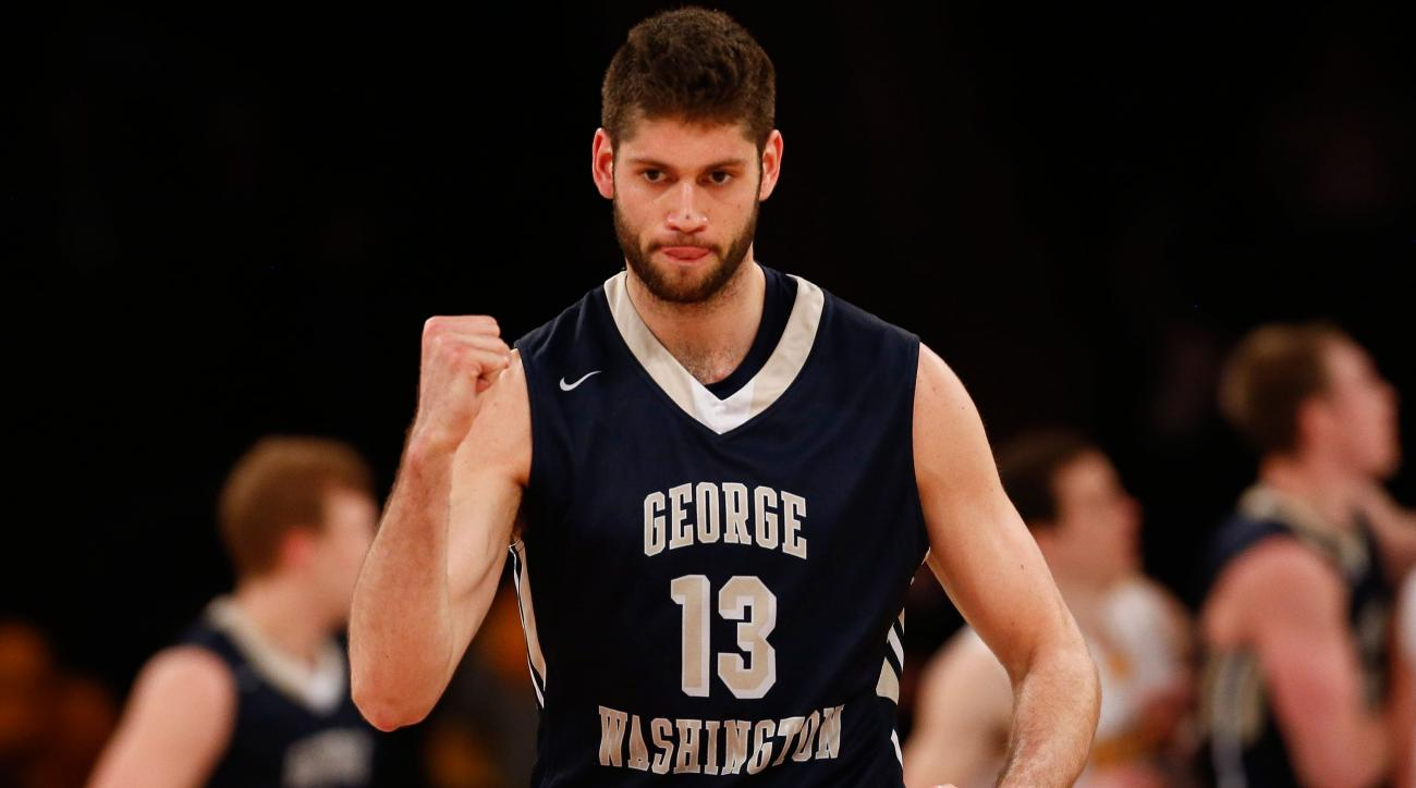 george washington wins nit beats valparaiso