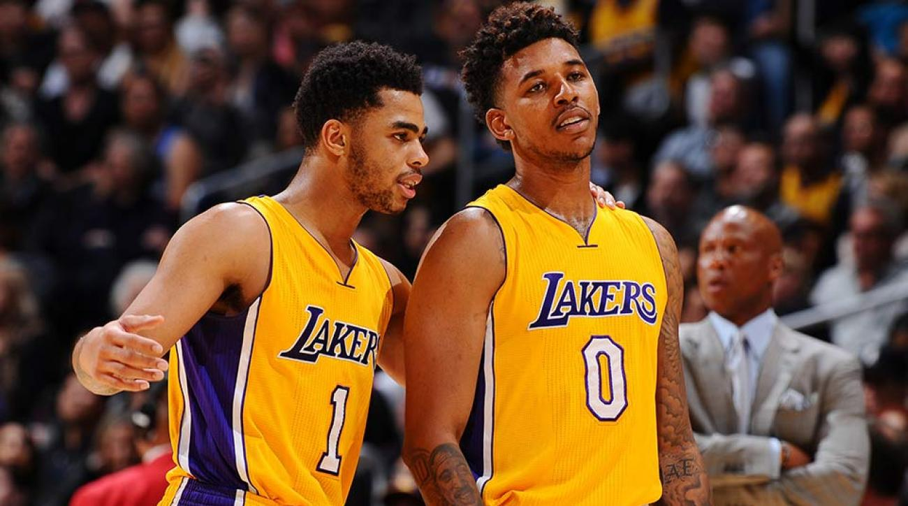 D'Angelo Russell; Nick Young