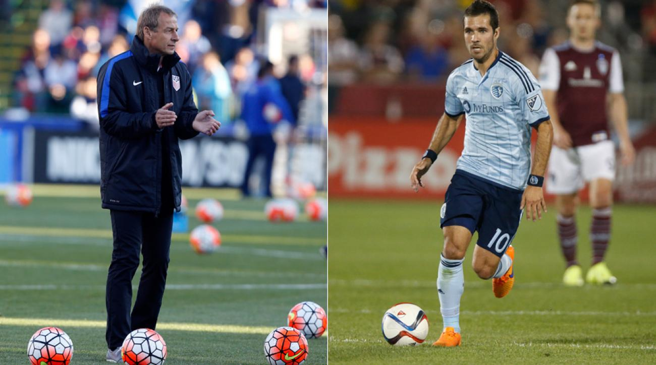 Jurgen Klinsmann and Benny Feilhaber have a complicated history with one another