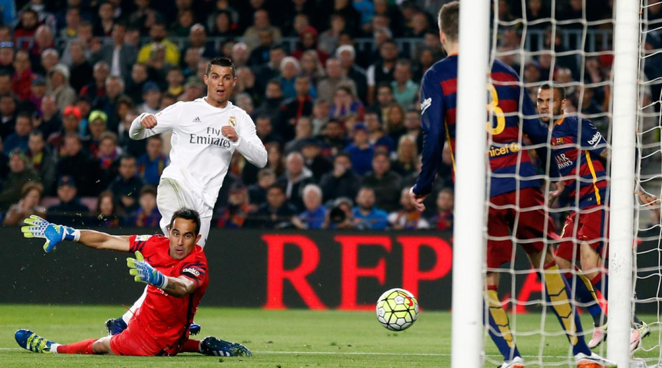 Keylor navas pays tribute to cristiano ronaldo sports mole - El Clasico Ronaldo Real Madrid End Barcelona S Unbeaten Run