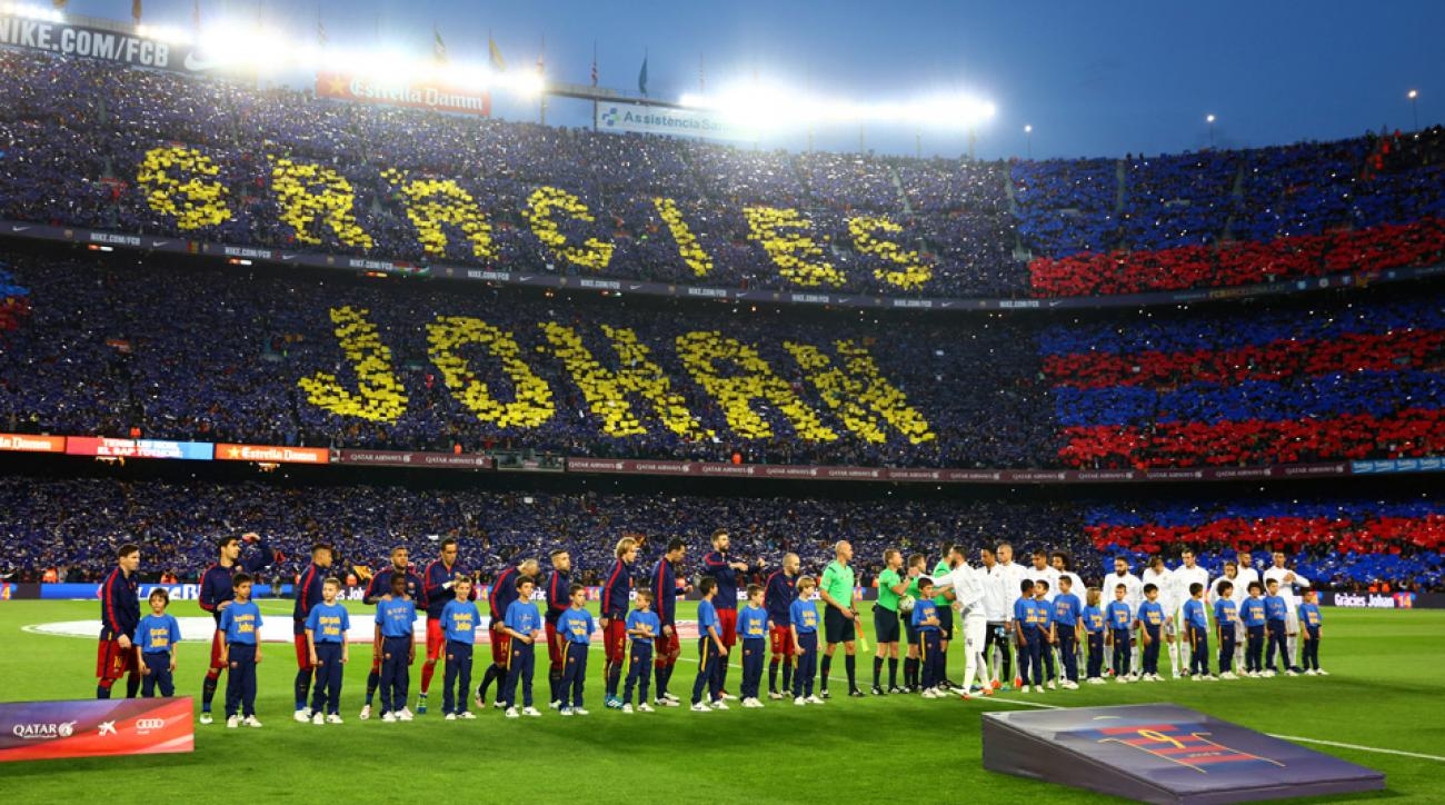 Barcelona, Real Madrid pay tribute to Johan Cruyff at Camp Nou ahead of El Clasico