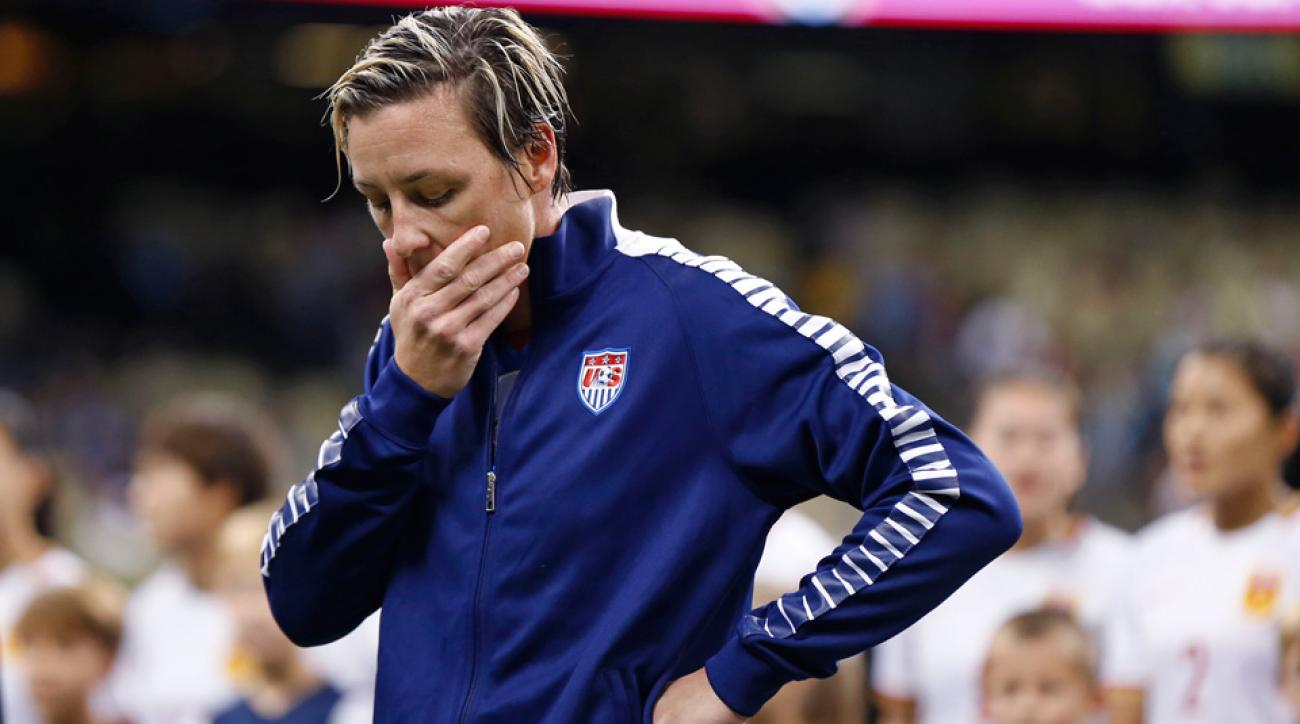 Abby Wambach was arrested for driving under the influence in Portland