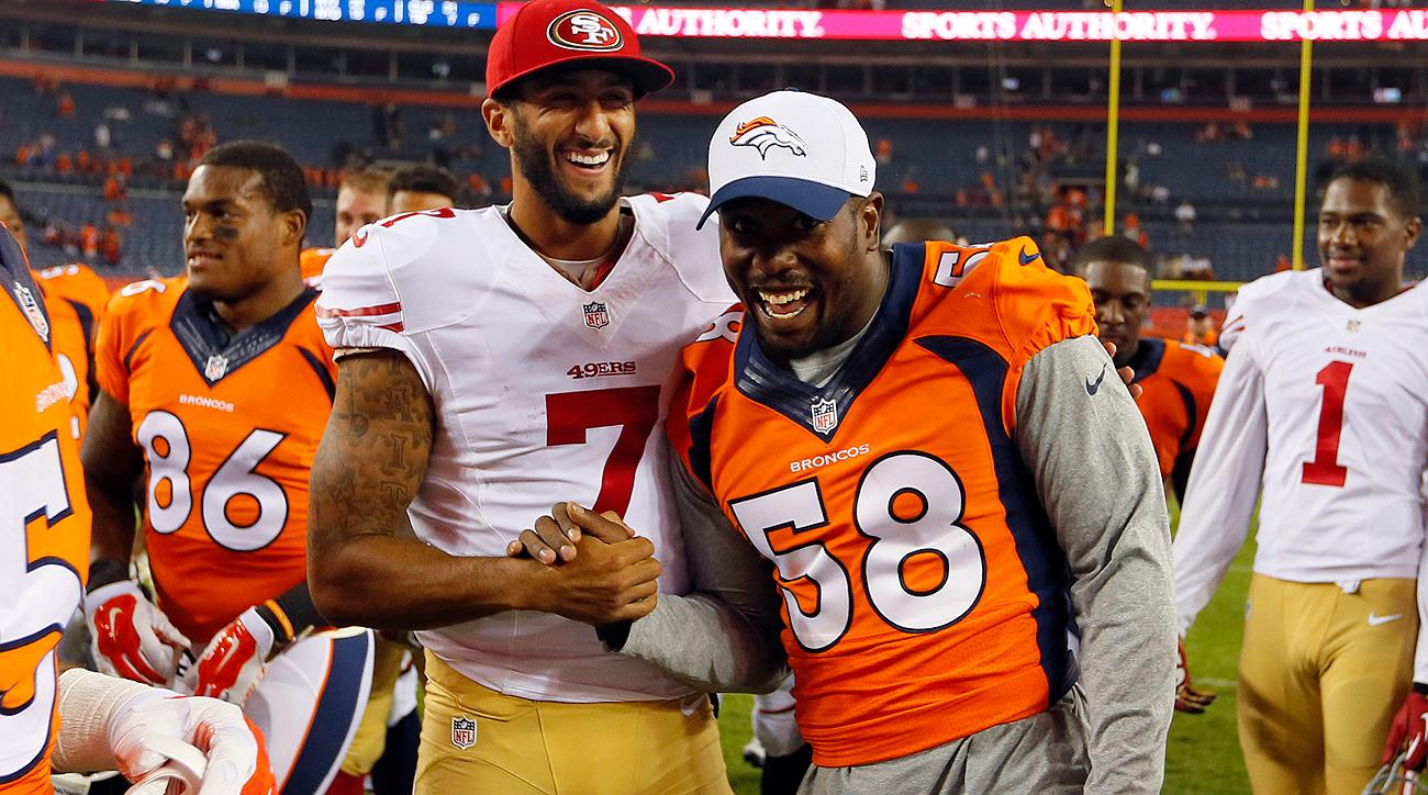 Colin Kaepernick and Von Miller, future teammates in Denver? The Broncos reportedly are trying to make it happen.