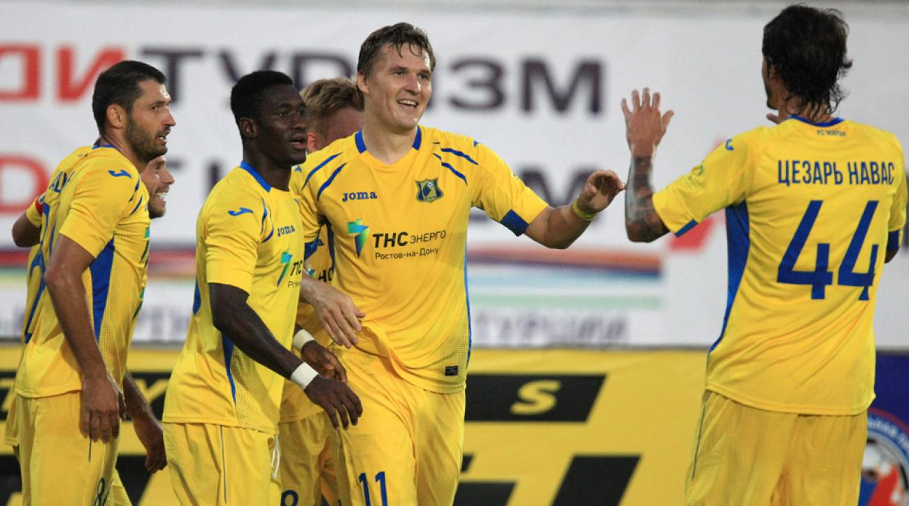 5e7020122 The story of FC Rostov  Russia s equivalent of Leicester City