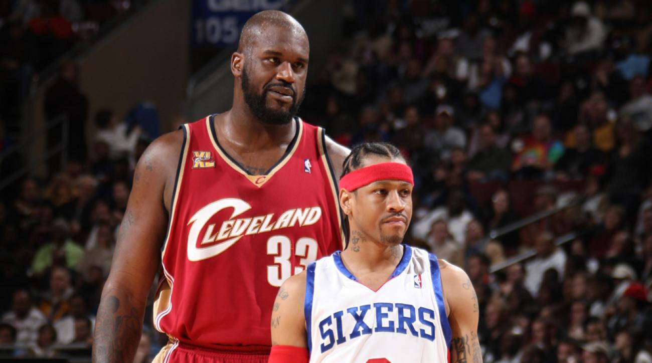 shaquille oneal allen iverson basketball hall of fame election